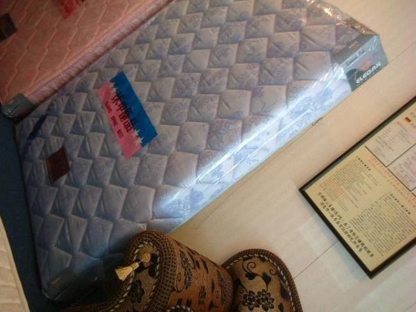 ※高雄~專業睡眠館※歐式『超硬式加強』鎢鋼護背彈簧床墊~雙ISO國際品質認證