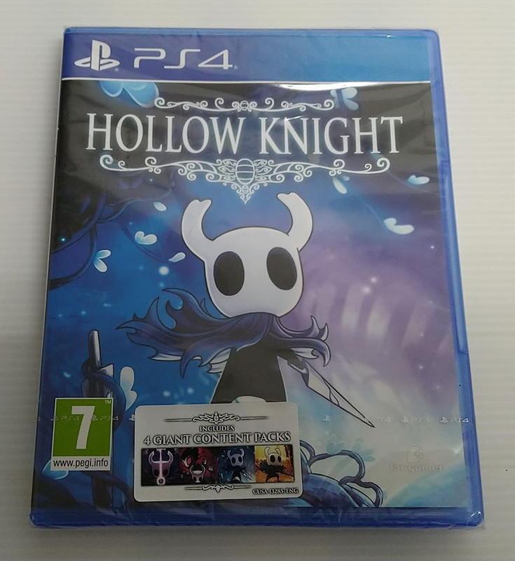 [小麥]PS4窟窿騎士 國際中文版(全新未拆) Hollow Knight
