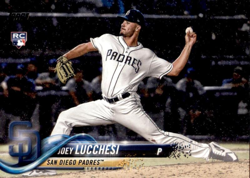 2018 Topps Update #US271 Joey Lucchesi RC 教士隊