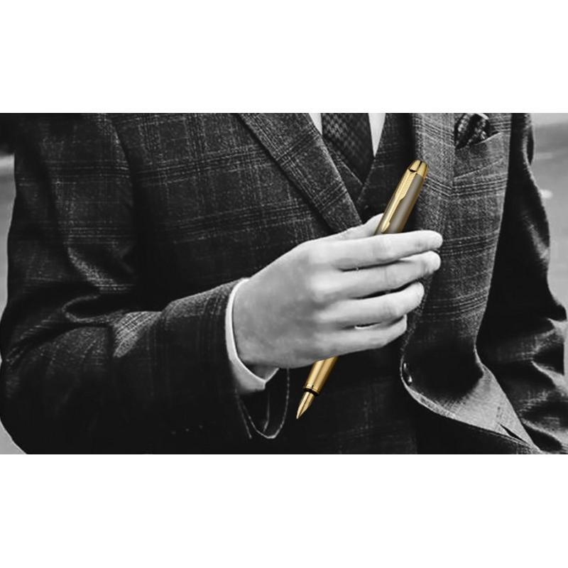 鋼筆正品鋼筆IM禮盒裝簽字筆美工筆學生用練字辦公用