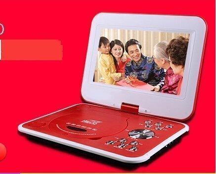 【204愛丫3C】SAST/先科ST1260 13寸移動DVD 便攜式evd 影碟機 高清屏帶電視播放器 現貨1