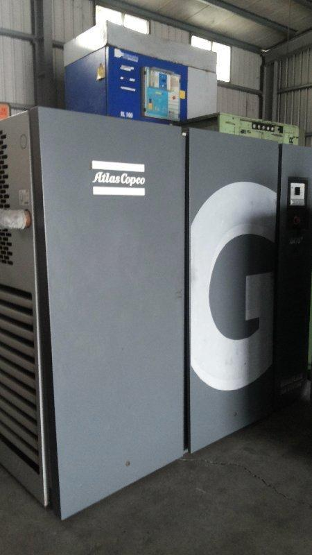 Atlas 阿達拉斯 100HP螺旋式空壓機
