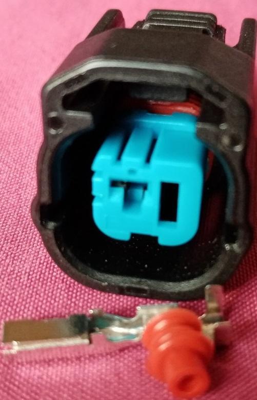 本田 FIT CITY Odyssey Accord 喇叭插頭 喇叭接頭 爆震感知器插頭 爆震感知器接頭 1P母