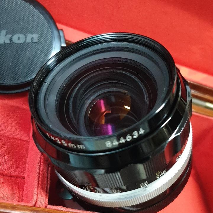 Nikon O. C. auto Non-ai 35mm F2 大光圈定焦廣角鏡