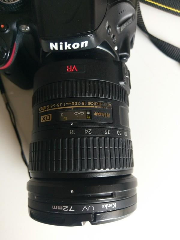 nikon5100 + 18-200 nikon原廠鏡