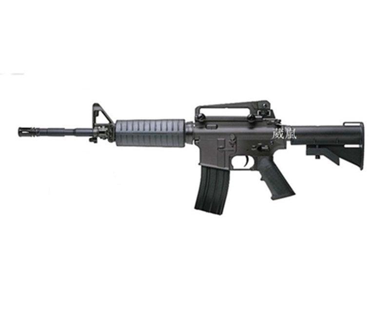 2館 SRC M4A1全金屬電動槍-二代(BB彈玩具槍長槍步槍瓦斯槍模型槍CO2直壓槍狙擊槍獵槍卡賓槍SRC M16A1