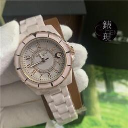 【小林代購】COACH 粉紅陶瓷晶鑽錶✨小香風 原廠公司貨 附兩年保固 14503461 14503463