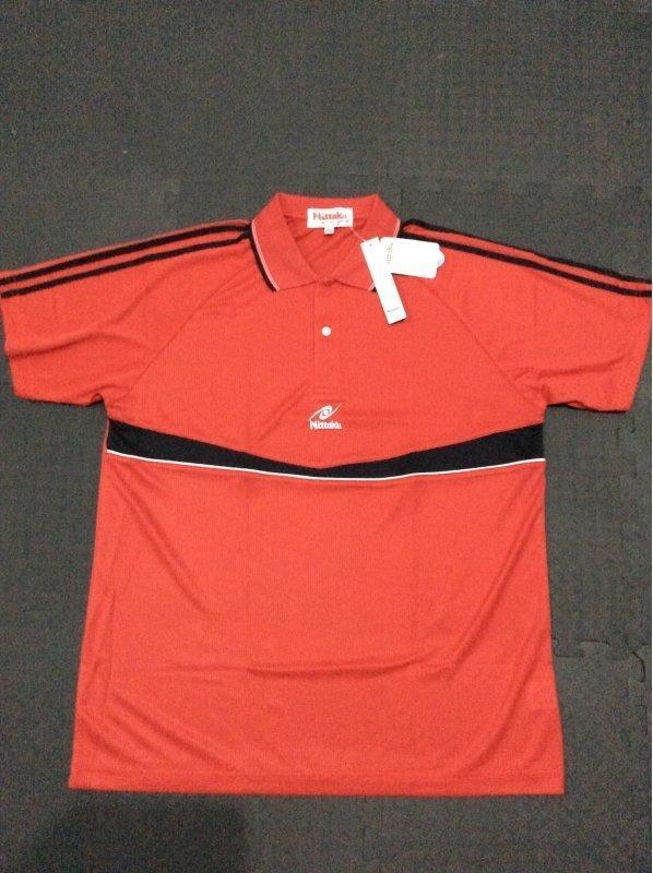 桌球孤鷹~桌球衣~Nittaku球衣~(紅色)~品質良好~廠商特價390!