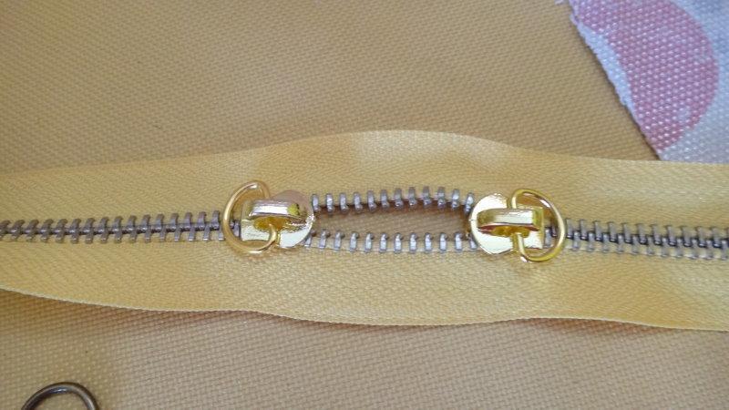 五金配件 拉鏈頭 YKK拉鏈 普通拉鏈 都可使用 5V銅齒拉鏈 碼裝|碼裝拉鏈用 拉頭 3元 愛心手工材料鋪