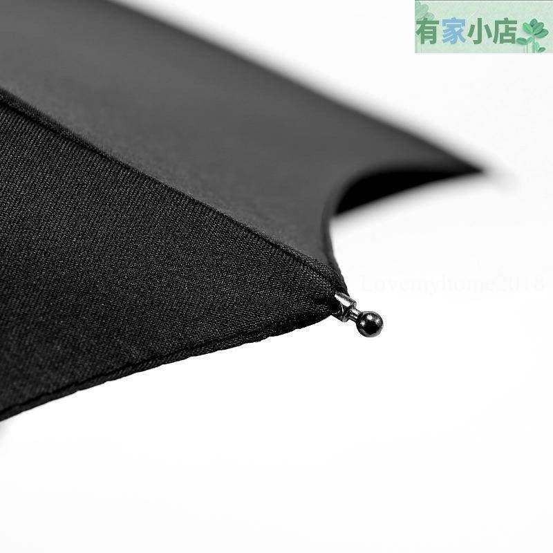 黑櫻花摺疊雨傘全自動一鍵開收男女士加大商務q8qWb&三折防風抗暴雨傘 yjxd1015