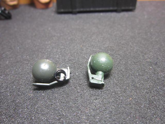 G2工兵裝備 VH美軍款1/6球型手榴彈兩顆