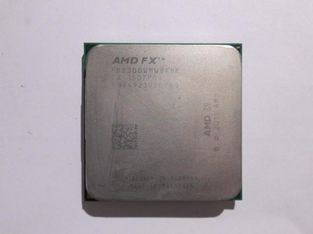 AMD FX 8300 95W 不鎖倍頻省電版CPU 3.3GHz(AMD FX 8120 8320 8150 可參考)