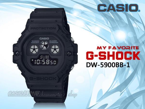 best website ed8c3 8d643 CASIO 時計屋 G-SHOCK BB Series系列 DW-5900BB-1 復古電子男錶 DW-5900BB