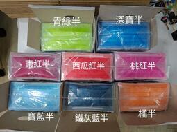 淨新 成人平面 淡色 半色 三層 醫用口罩 台灣製一盒50入(盒裝)(含發票) 金帆科技