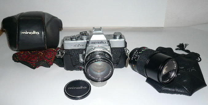Minolta SRT101單眼相機標準+Tokina135Zoom lens