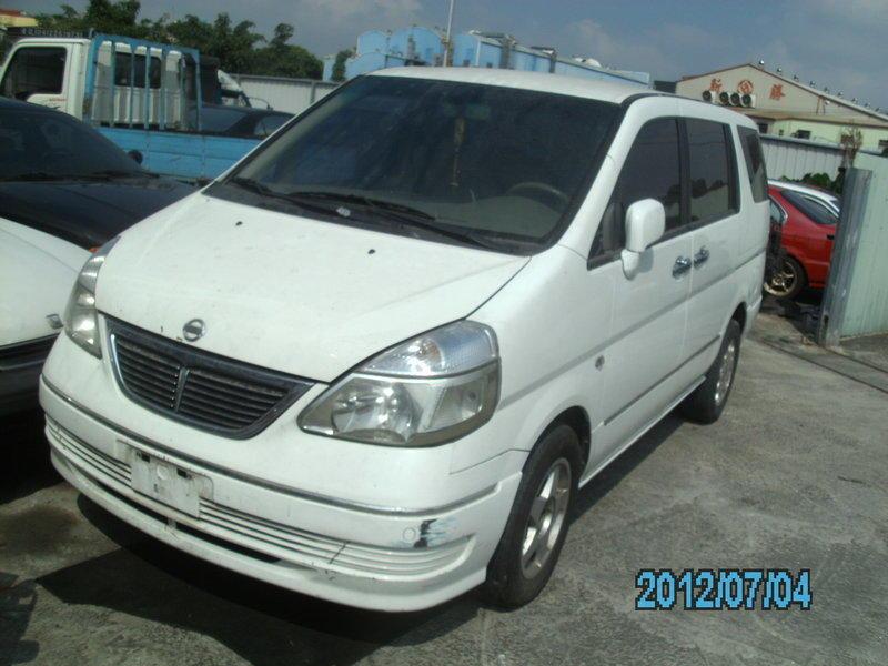 01年日產QRV零件車