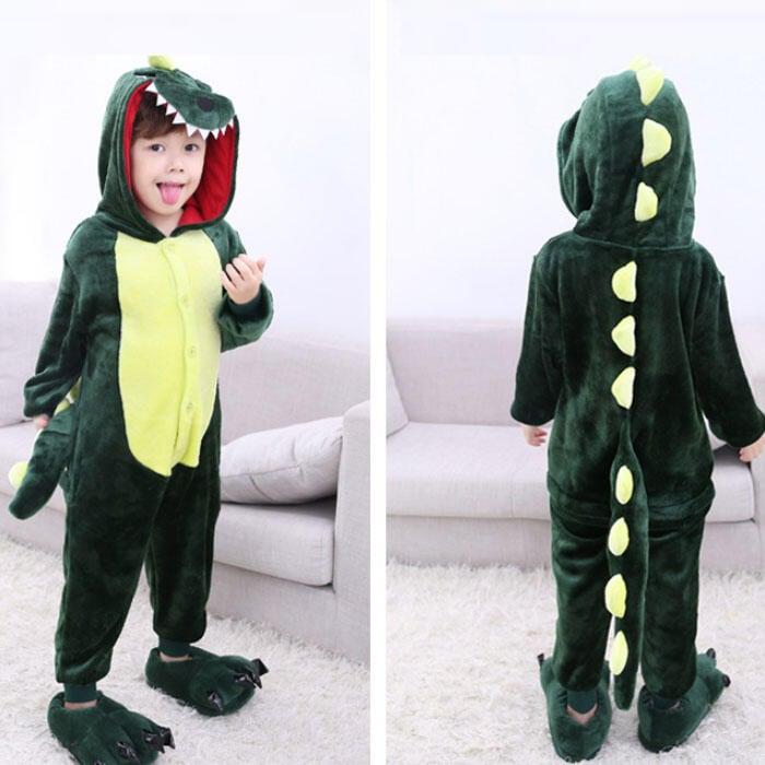 動物睡衣 恐龍睡衣 恐龍裝 乳牛裝 長頸鹿裝 cosplay 變裝 卡通睡衣 成人 兒童睡衣 小孩 動物裝【HL77】