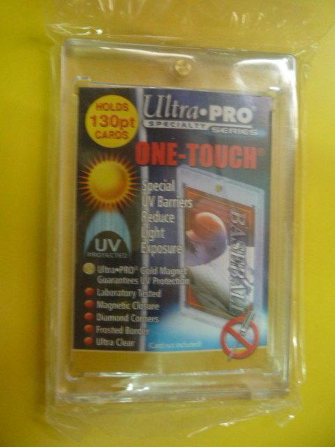 【雙子星】磁扣式卡片夾 抗UV130PT厚卡吸鐵卡夾 UP#81721-UV 適用 NBA MLB BBM 球衣卡
