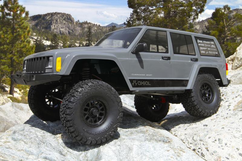 HMM Axial SCX10 II 2000Jeep Cherokee1/10RTR AX90047攀岩車$12400