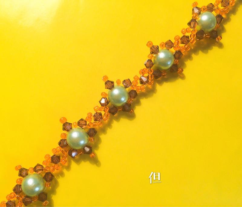 Ann手藝鋪---聖經猶太人十二支派5.但---300元手工串珠手鍊(使用施華洛世奇SWAROVSKI水晶)