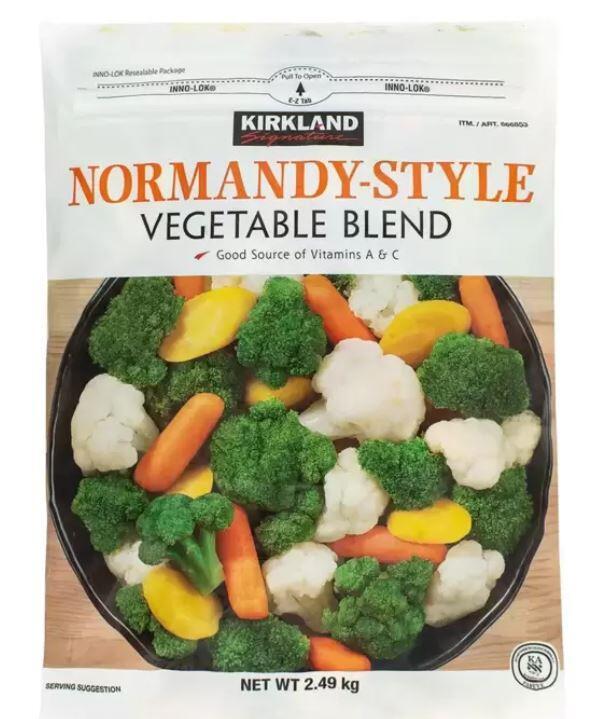 ( COSTCO 好市多 代購 ) Kirkland Signature 科克蘭 冷凍蔬菜 2.49公斤
