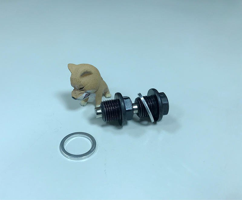 多車型 Volvo XC60磁鐵機油螺絲 富豪V40磁力洩油螺絲 S60 C30 C70磁性卸油油塞螺絲油底殼螺絲換機油