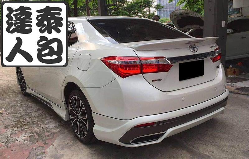 『泰包達人』Toyota Altis 11 代 泰國 大包 前保桿 後保桿 改裝 側裙 下巴 定風翼