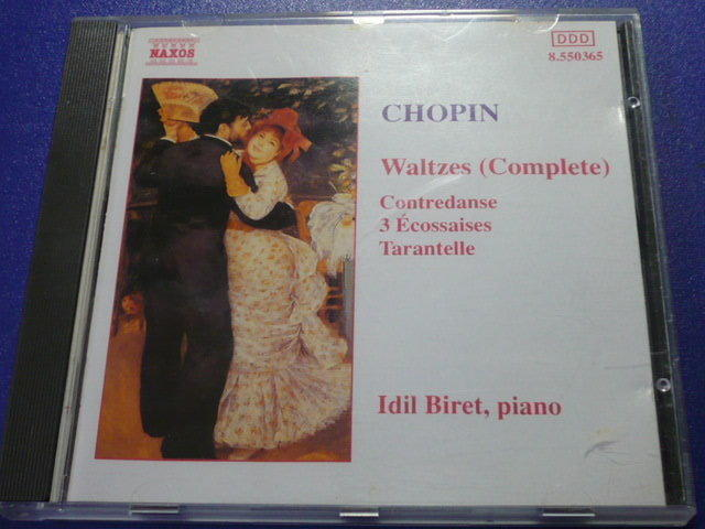 【夢想王國-音樂CD】CHOPIN --- Waltzes (Complete) ---蕭邦圓舞曲全集 原版CD