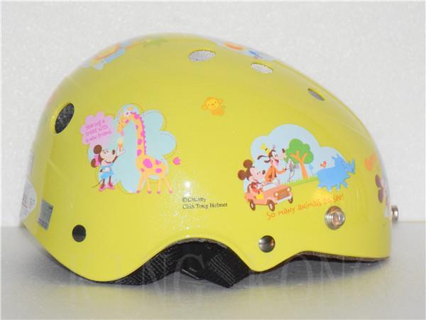 金剛安全帽【迪士尼 兒童洞洞調整帶安全帽】超透氣 米奇帽 附贈鏡片
