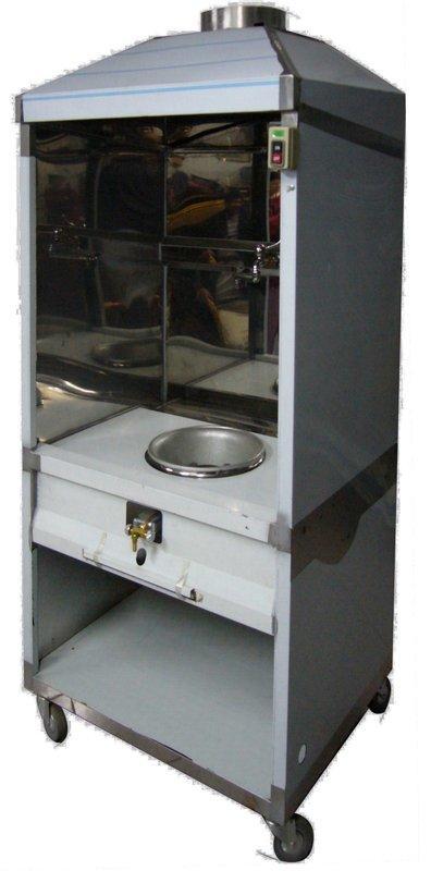 煙罩式單口炒台(含煙罩馬達) *桶裝 $15000 *賣場另有2口/3口炒台