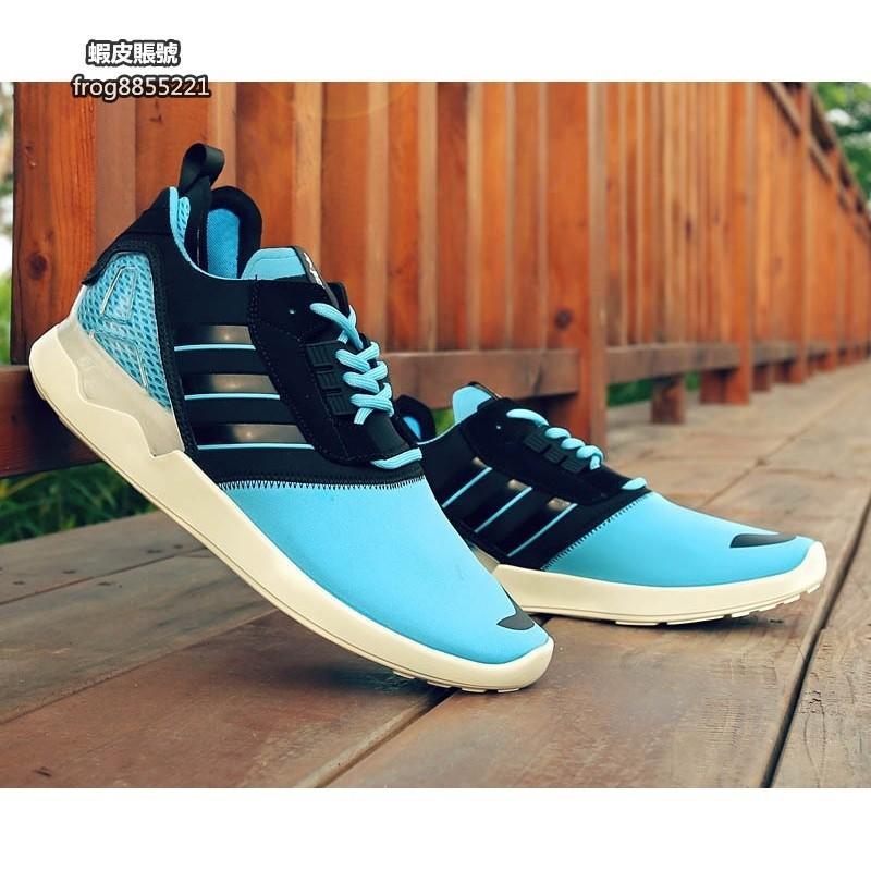 Adidas Originals ZX 8000 BOOST 藍黑 慢跑鞋 男女款
