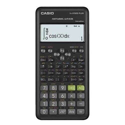 【CASIO】卡西歐 FX-570ES PLUS 科學型標準型 計算機 9個變數 10 + 2位數