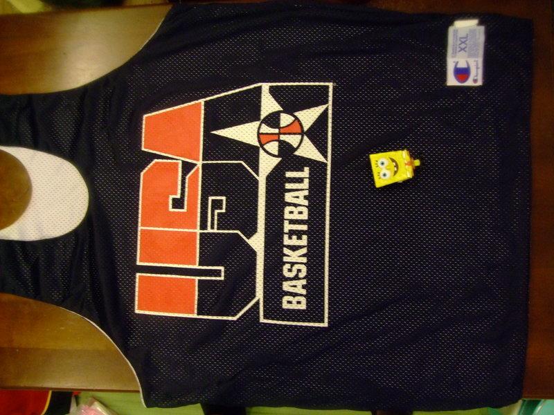 請先看關於我-美國夢幻隊練習衣  usa dream team XXL