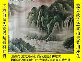 古文物罕見四尺整幅山水露天89174 罕見四尺整幅山水