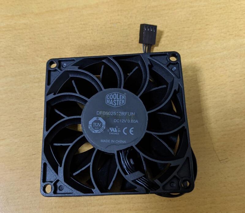 Cooler Master 風扇 8cm 4pin 12V 0.60A  (DF0802512RFUN)