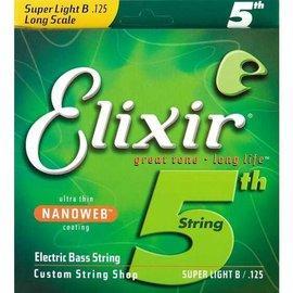 搖滾阿明樂器行 Elixir Nanoweb 第5弦電貝斯單弦(125)15425
