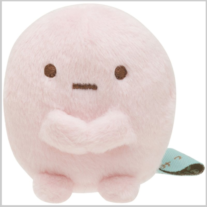 玥櫻小舖【預購】 角落生物 沙包 娃娃 日本代購 正版 藍粉圓