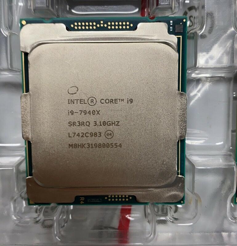 【現貨出清】INTEL i9-7940X 正式版 14C28T 19.25M 不鎖頻 X299 LGA2066