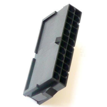 Molex 母膠殼 24PIN 主機板 ATX 電源 對接 延長
