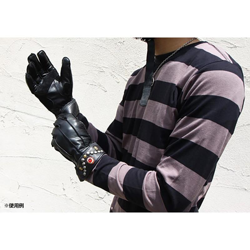 《美式工廠》日本 vin&age 牛皮手套 VGW14 哈雷 印地安 復古 鉚釘 防水防寒