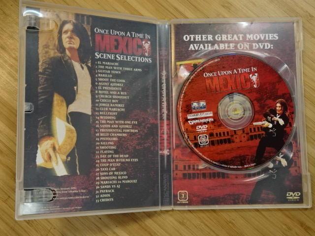 《啟元唱片》DVD 墨西哥往事 MEXICO 片況良好