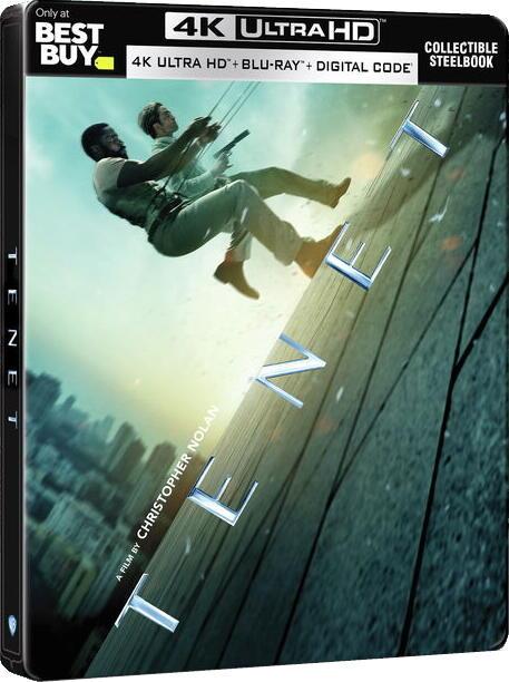 [藍光讚](預購免運費)美版 天能4K UHD+BD藍光三碟獨家鐵盒版(英文字幕)