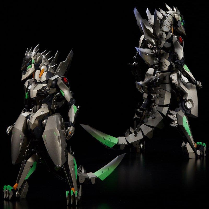 (10月預購) 日版 千值練 RIOBOT 對G専用決戦兵器 紫龍 試作初號機 哥吉拉