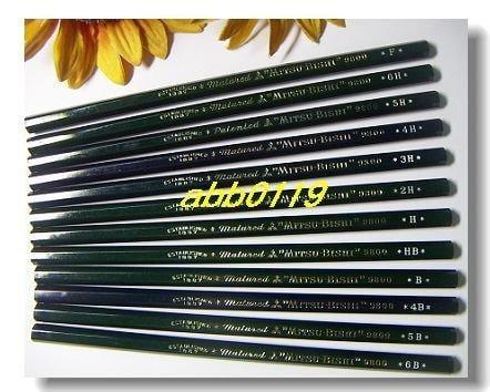 ☆☆~☆日本三菱9800製圖鉛筆-H☆~☆☆結束營業超低價4折大出清!!!