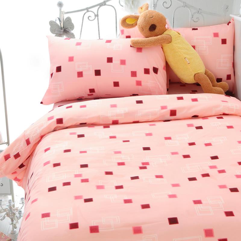 Artis台灣製【合版E/A】極細纖維 單人床包、被套 多款花色