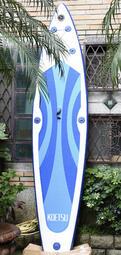 充氣滑水板 雙人SUP 長度380公分 立槳 衝浪滑水板 SUP立槳