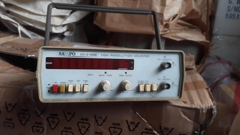 聲寶牌 1GHZ 桌上型自動計頻器