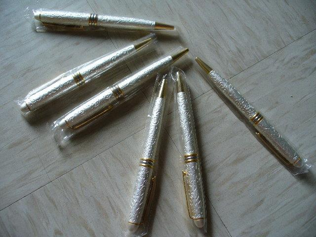 全新金屬質感可換筆芯鋼珠筆