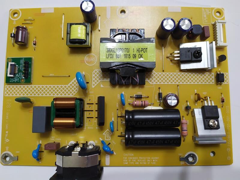 AOC C27G1  27吋曲面電競液晶螢幕 電源板