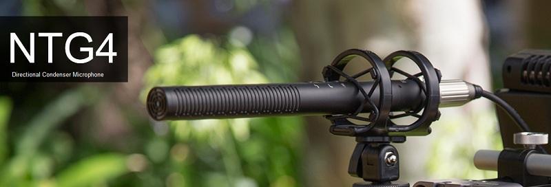 造韻樂器音響- JU-MUSIC - 全新 RODE NTG4 槍型 指向性 電容 麥克風 直播